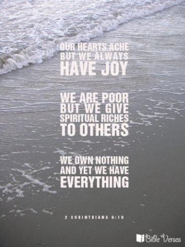 2 Corinthians 6:10