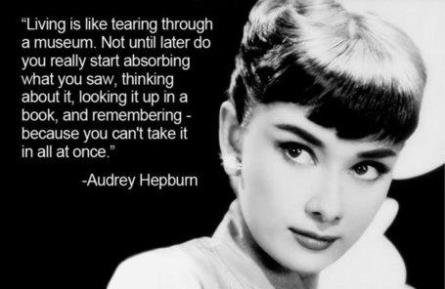 Even more from the beautiful Audrey Hepburn