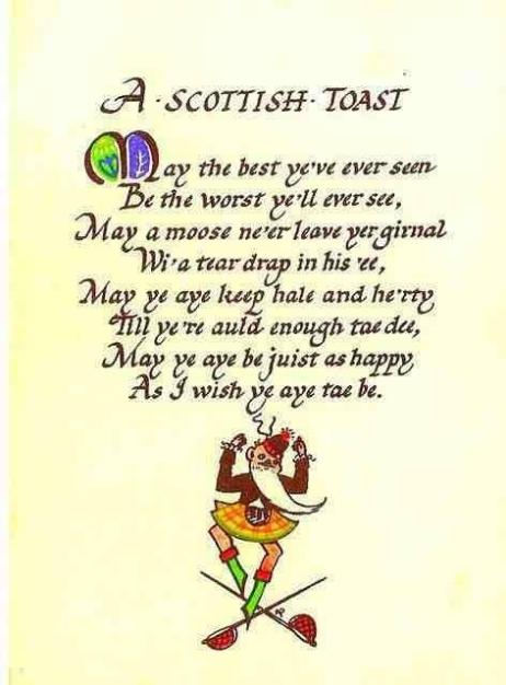 A Scottish Toast