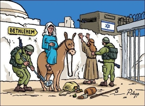 on the way to Bethlehem