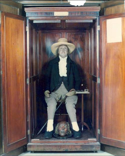 Jeremy Bentham - still in the closet