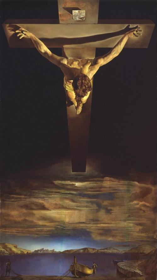 Dali's Christ of St John on the cross
