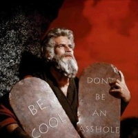 Ten Commandments for Dummies