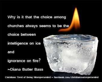 Ice (no wind of the Spirit) and Fire