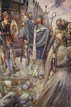 St Columba-  on this day (9 June): Anniversary of Death