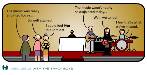 Image result for praise band cartoon