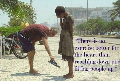 Lifting people up