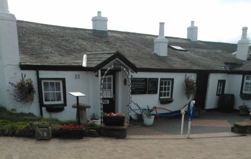 The Famous Old Blacksmith's Shop at Gretna Green