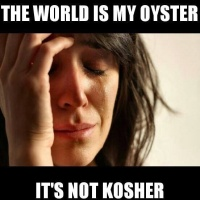 The World is my Oyster (from Jewish Memes)