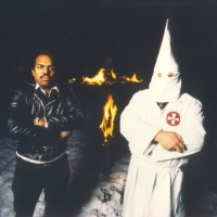 KKK member and a black musician