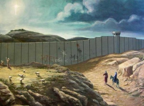 Banksy's Christmas Card