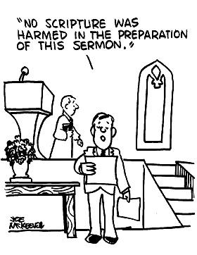 Sermon and Scripture