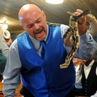 Snakes Alive; Snake handler RIP