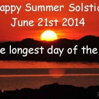 100 days - Day 60:  Summer Solstice