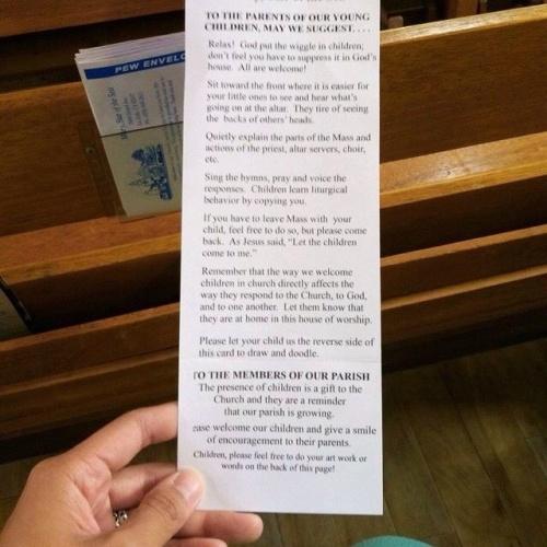 Children in Church (via CatholicVote)
