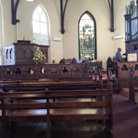 Sunday Worship at St. Ann's Church of Scotland, Port of Spain, Trinidad